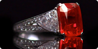 Graff's Cushion-Cut Ruby