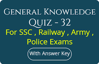 General Knowledge Quiz - 32
