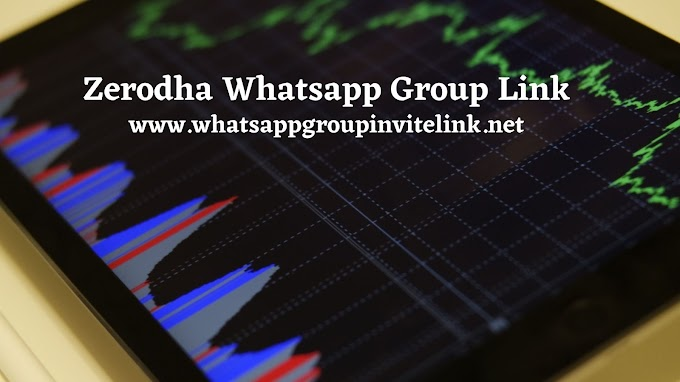 Join 101+ Zerodha Whatsapp Group Link