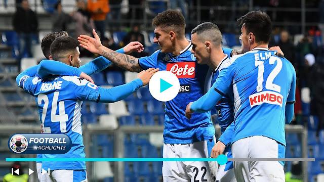 Sassuolo vs Napoli Highlights