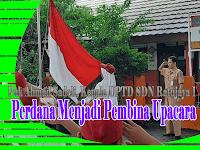 Pak Ahmad Sadeli, Perdana Menjadi Pembina Upacara di SDN Ratujaya 1