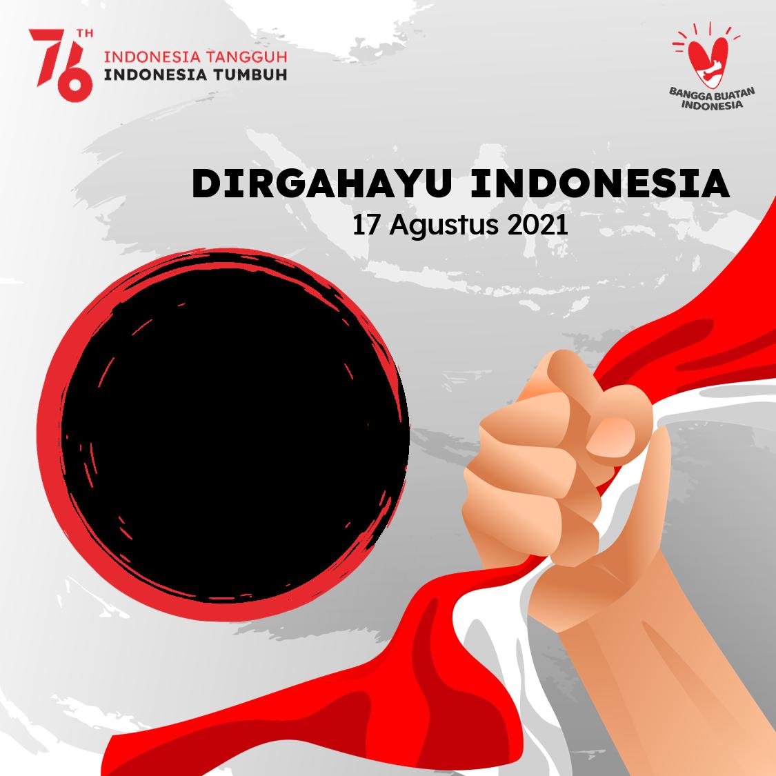 Link Background Bingkai Foto Twibbon Dirgahayu Indonesia 17 Agustus 2021