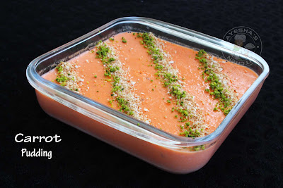Yummy pudding carrot sweets desserts with carrot ayeshas kitchen pudding recipes yummy easy quick party desserts best carrot pudding