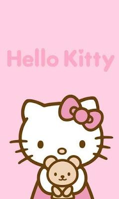 Gambar hello kitty cantik