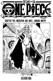Update! Baca Manga One Piece Chapter 901 Full Sub Indo