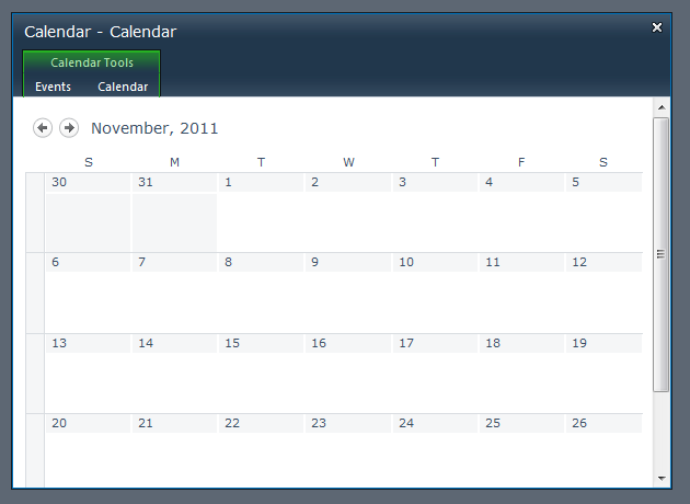 SharePoint Calendar Color