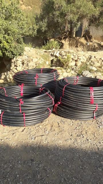 دوار أيت درارت جماعة أوناين يستفيد من مشروع الماء الصالح بغلاف مالي محترم