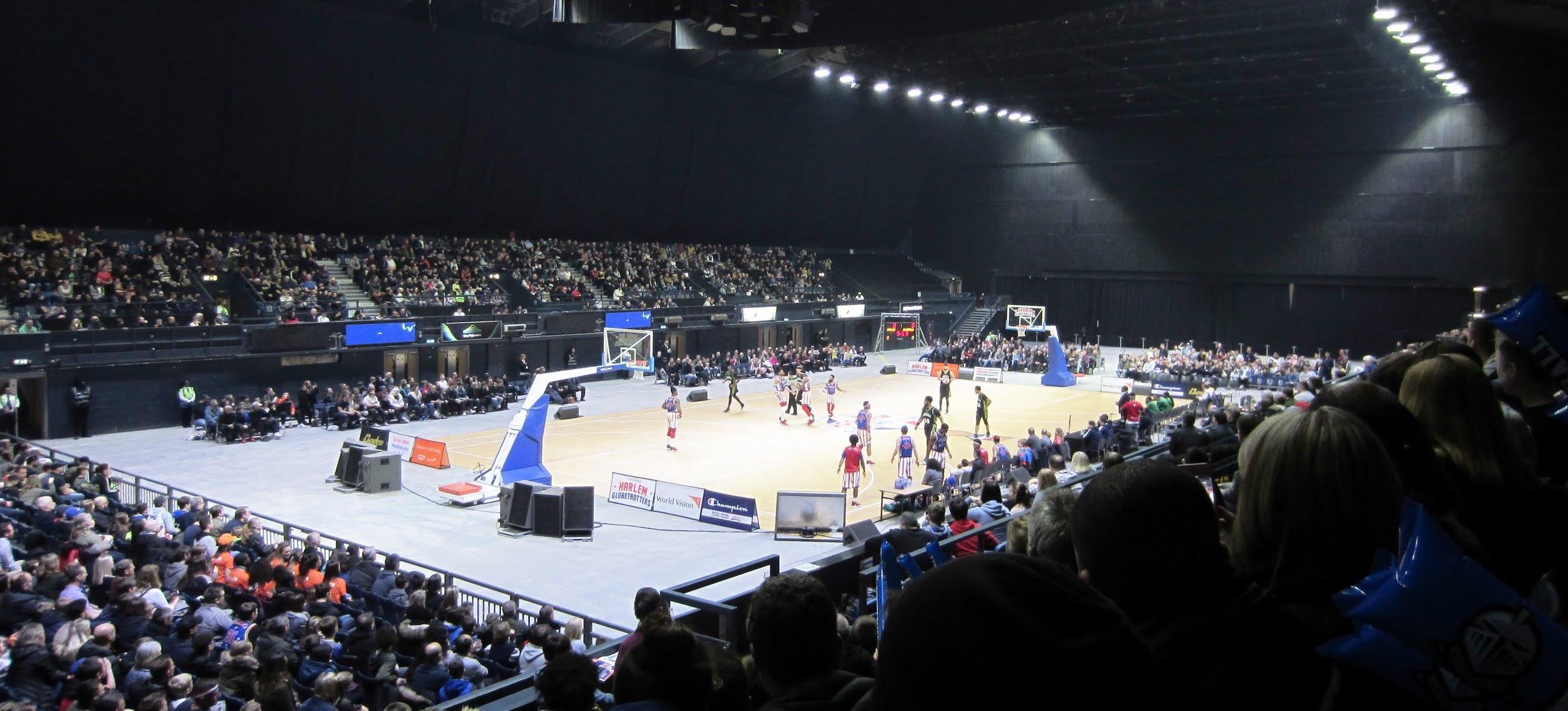 Harlem Globetrotters taking on the Washington Generals at The SSE Arena Wembley