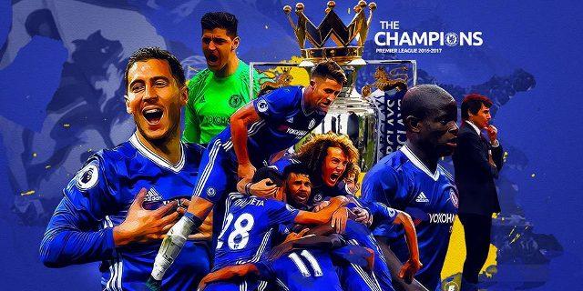 Chelsea Juara Liga Inggris 2016-2017
