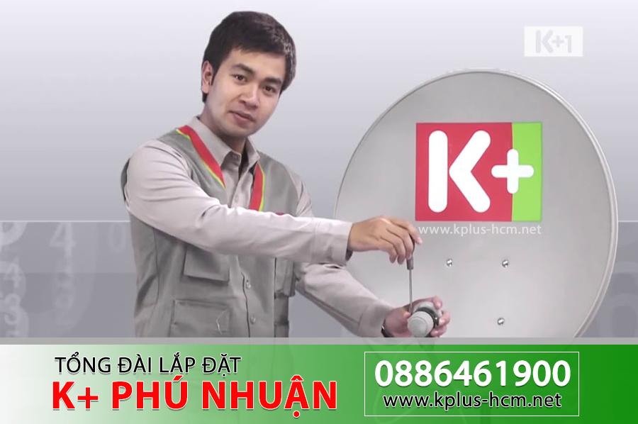 Đơn vị lắp đặt truyền hình K+ tại Quận Phú Nhuận, TP.HCM