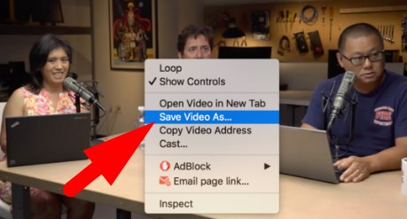 how to save video from facebook to computer