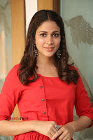Actress Lavanya Tripathi Latest Pos in Red Dress at Radha Movie Success Meet .COM 0228.JPG