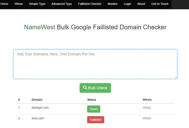 Cek Banned Adsense 2020 - namewest