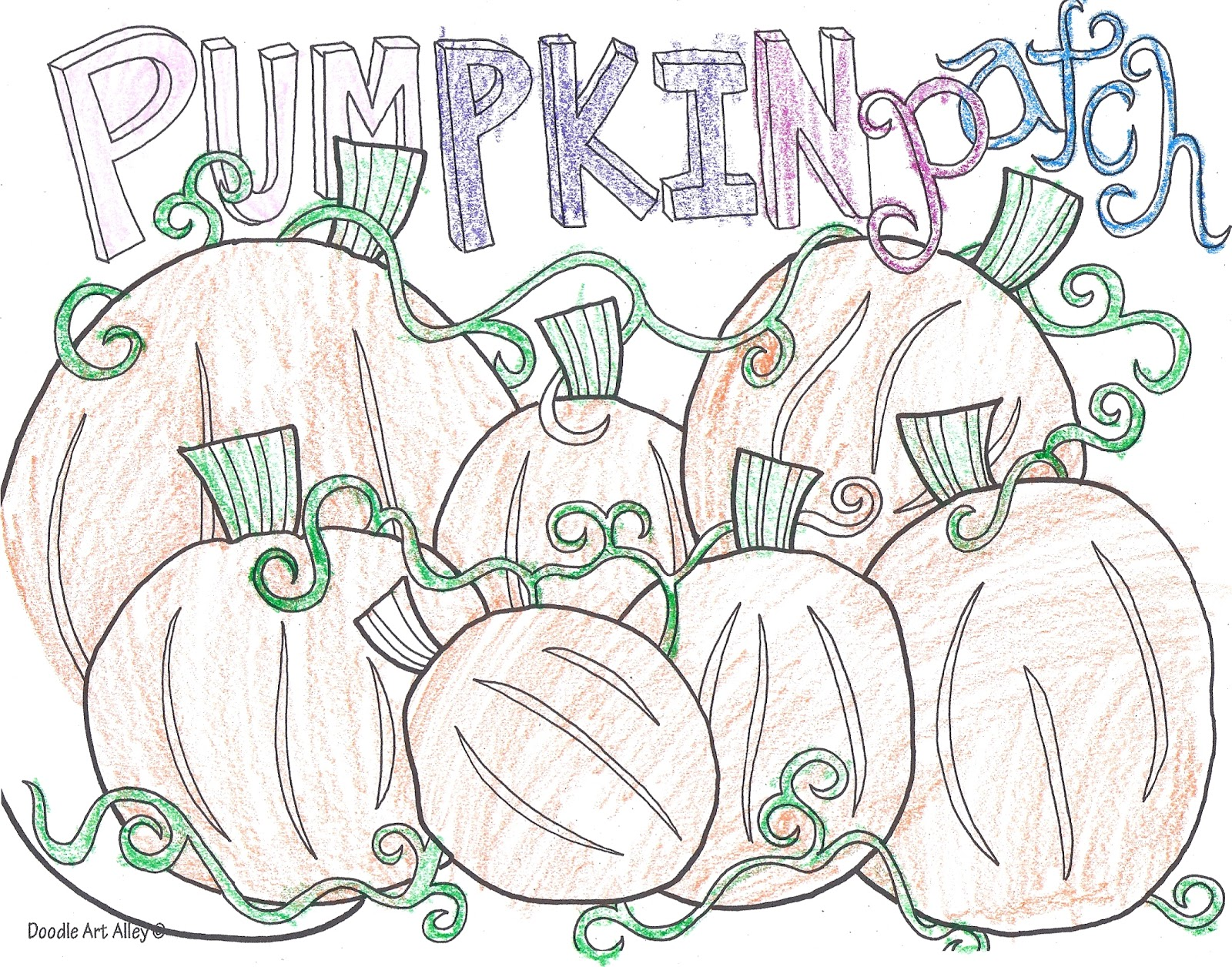 Doodle S: Happy Clean Living: Halloween Doodle Art With The Jolley's