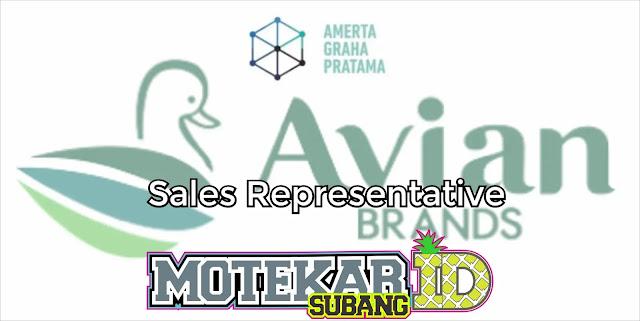 Info Loker Sales Representative PT. Amerta Graha Pratama 2019