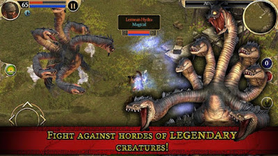 لعبة Titan Quest مهكرة كاملة للأندرويد (اخر اصدار)