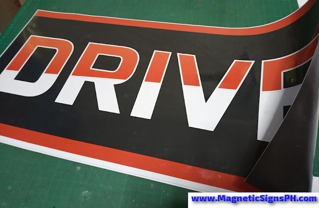 Car Door Magnet - DRIVE