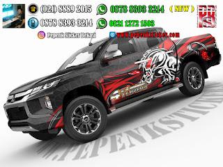 Mobil,Mitsubishi strada Triton,Cutting Sticker,Cutting Sticker Bekasi,Hilux,jakarta,Bekasi,