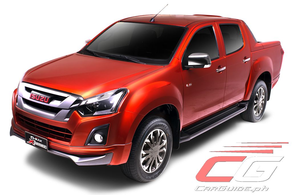 isuzu philippines launches 2017 d max x series w 23 photos philippine car news car reviews. Black Bedroom Furniture Sets. Home Design Ideas
