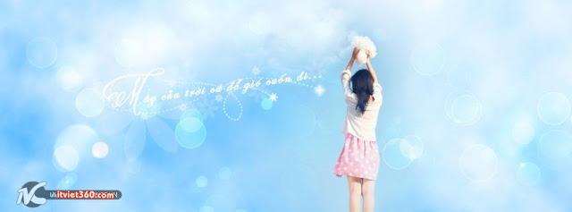 ảnh bìa Facebook đẹp nhất, cover FB girl xinh kute