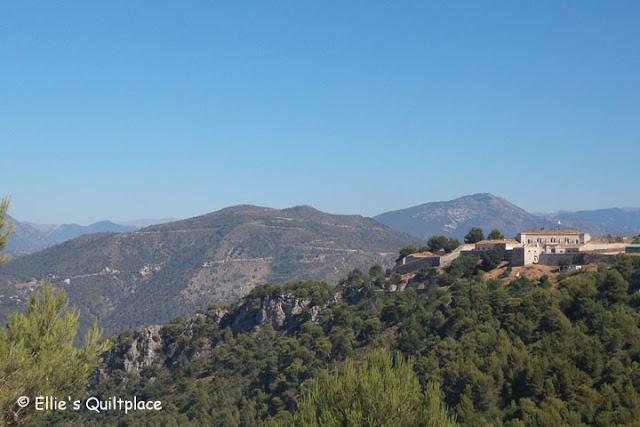 Eze Côte d'Azur France Fort de la Revère