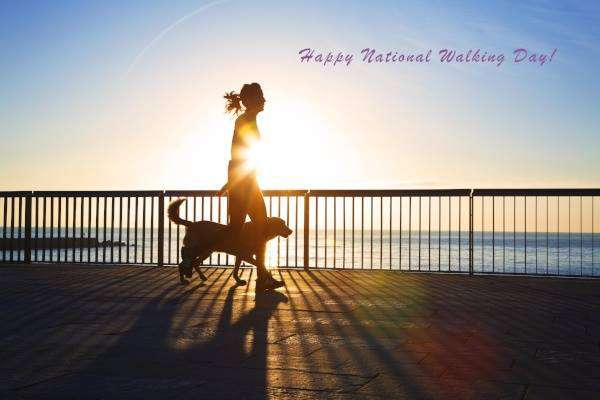 National Walking Day Wishes For Facebook