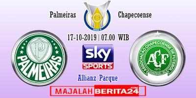 Prediksi Palmeiras vs Chapecoense — 17 Oktober 2019
