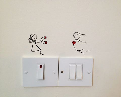 Painting Ideas On Switchboard