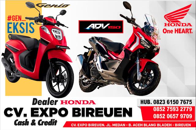 Banner Promo Honda
