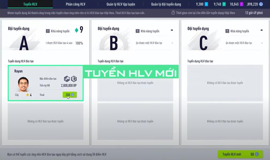 FIFA ONLINE 4 | Tổng hợp 5 bí mật về HLV kỹ năng người chơi không nên bỏ qua