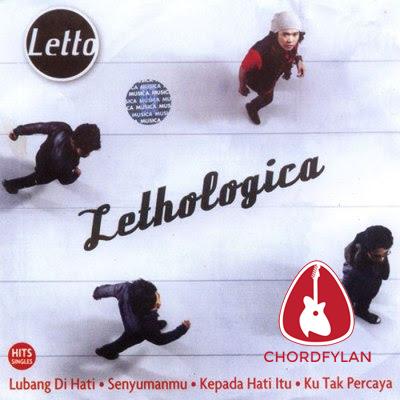 Lirik dan Chord Kunci Gitar Senyumanmu - Letto