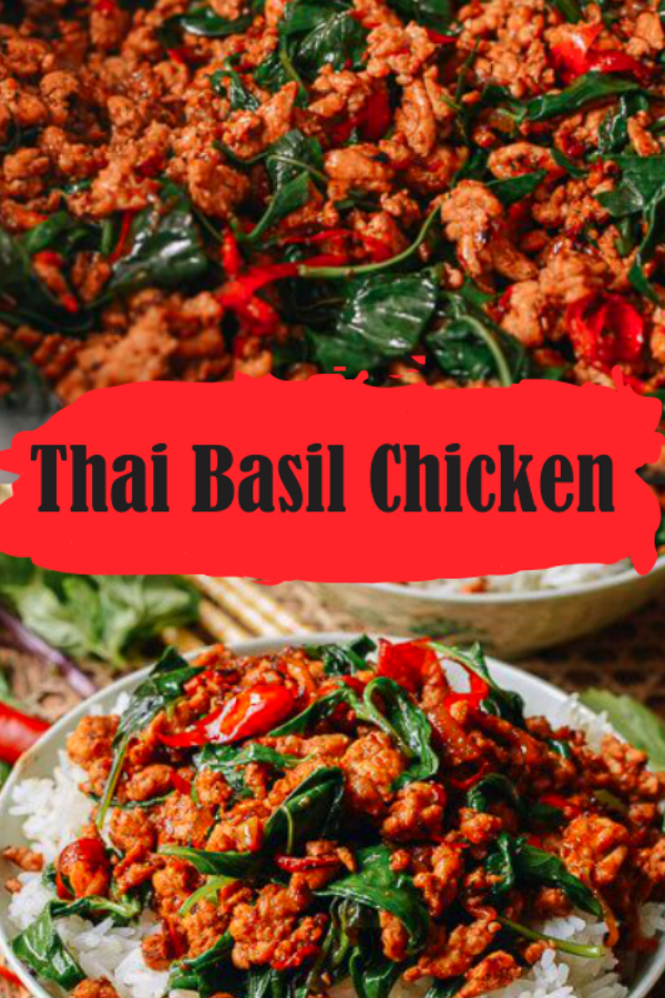 basil chicken thai