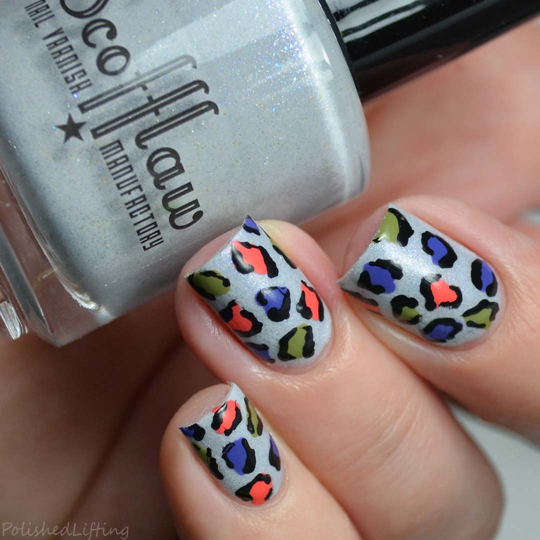 Autumn Leopard Print feat. Scofflaw Nail Varnish Love Letter to ...