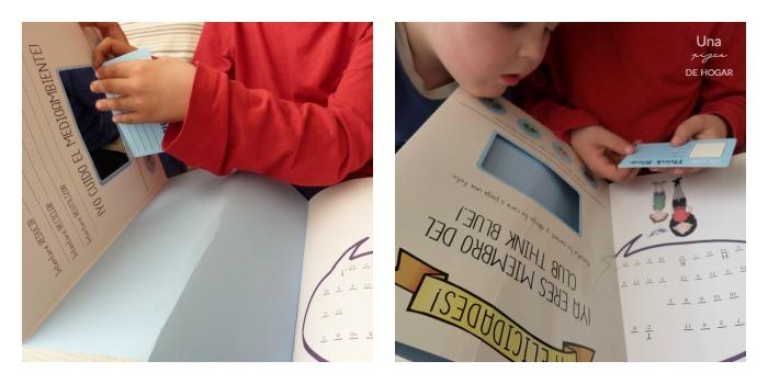 libro El planeta azul con actividades para niños