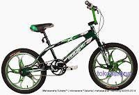 Sepeda BMX Pacific Brosway Mag Wheel 20 Inci Blue