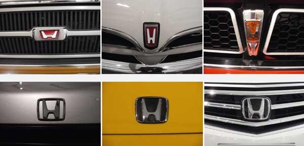 perubahan logo mobil honda