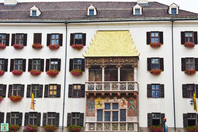 Tejadillo de Oro en Innsbruck, Austria