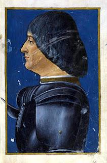 Ludovico Sforza had designs on the Duchy of Milan