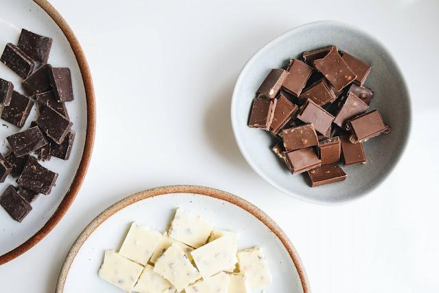 chocolate comidas com gin