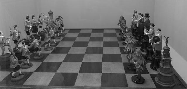 ajedrez antiguo, ajedrez original, photo-muj, photo muj, foto muj