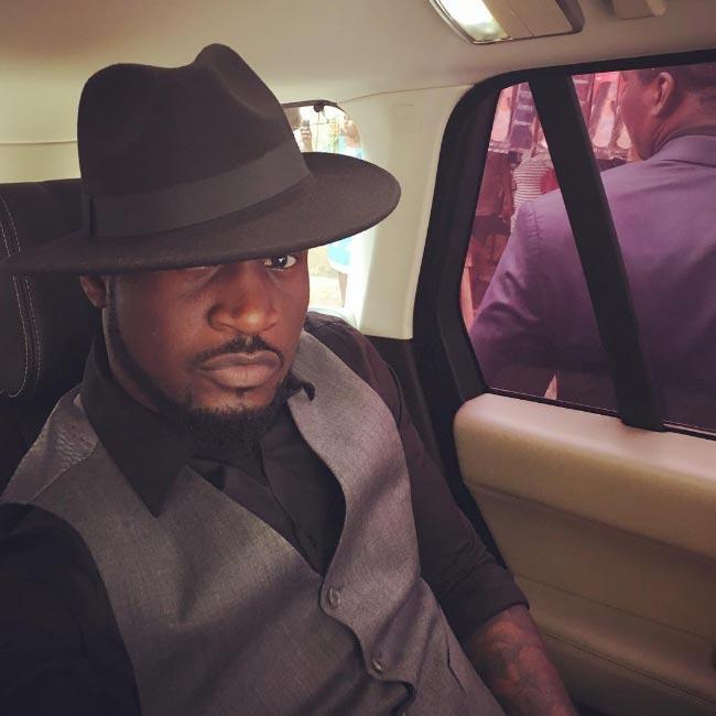 Peter Okoye dapper-looking in new selfie