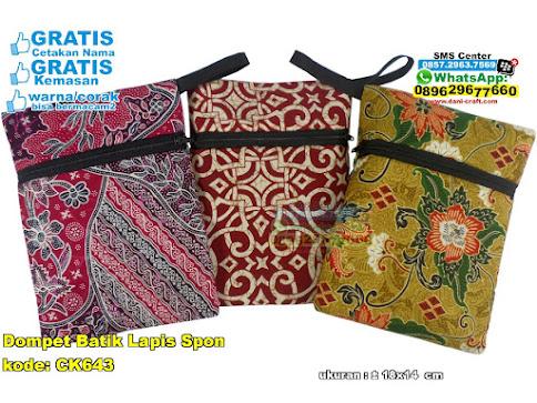 Dompet Batik Lapis Spon