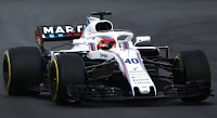 Williams Martini Racing 2018 f1 Robert Kubica test