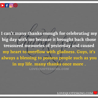 Thank you quotes for birthday wishes   Thank You Messages for Birthdays   Thank you messages for birthdays   Birthday thanks message
