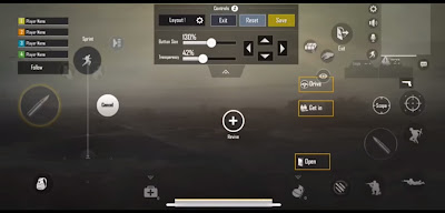 Izzo's PUBG Mobile settings
