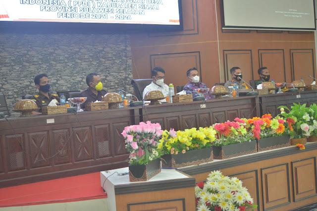 Wakil Ketua I DPRD Hadiri Pelantikan PPDI Sinjai