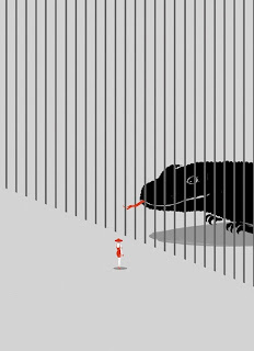 Ilustración surrealista y cartelismo