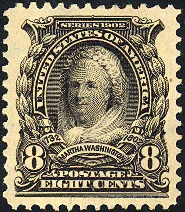 American Women On Stamps Martha Washington 1731 1802