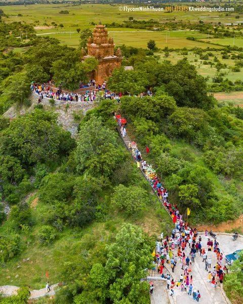 Tháp Poklong Garai, nét đẹp văn hóa Chăm