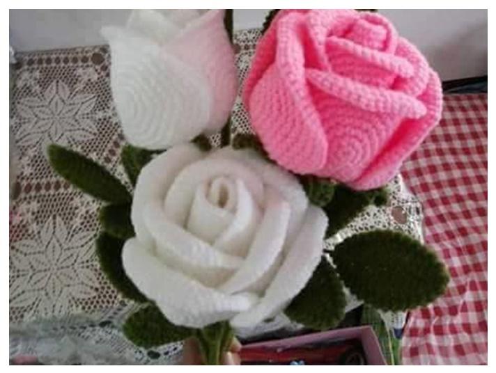 Mis puntadas preferidas: Flores tejidas patrones